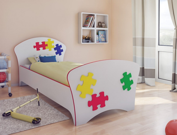 Купить кровать Соната Kids пазлы