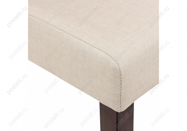 Стул Madina dark walnut/fabric cream (Арт. 11029)
