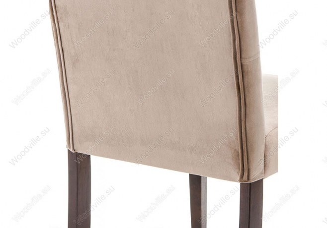 Стул Amelia dark walnut/fabric beige (Арт. 11140)